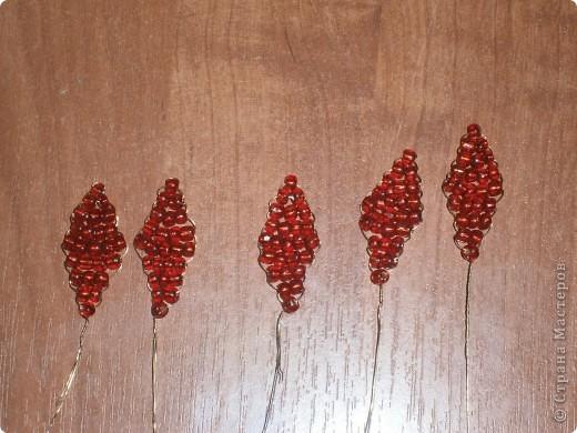 Плетём из бисера вместе.цветочек) фото 10