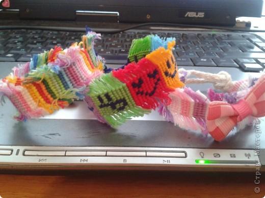 а это мои фенечки с бахромой. фото 1