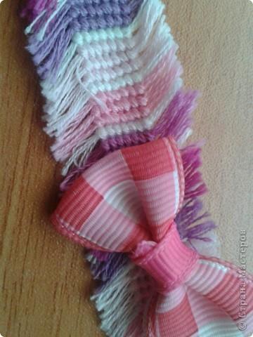 а это мои фенечки с бахромой. фото 5