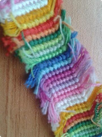 а это мои фенечки с бахромой. фото 6
