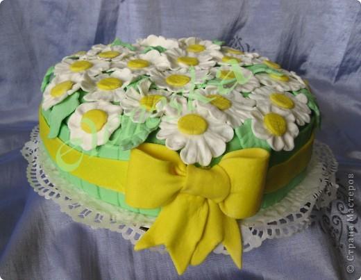 Цветочные тортики. фото 1