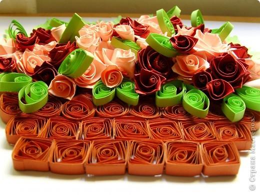 Букет роз в корзинке фото 4