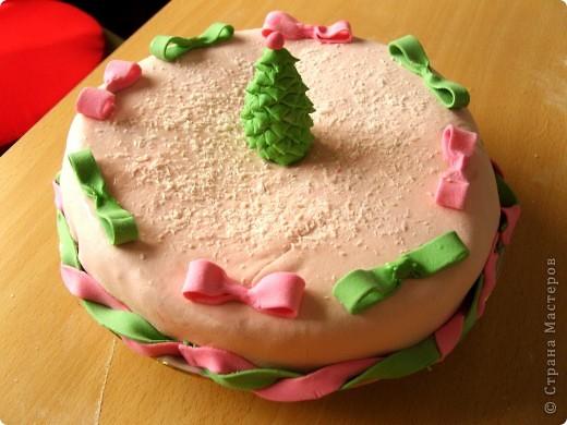 Торт на крестины моего сына фото 4