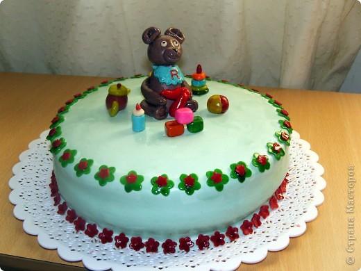 Торт на крестины моего сына фото 11