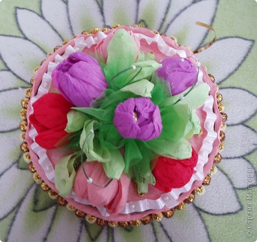 Такой тортик я делала впервые. Папа сладкоежка.  Всем спасибо за вдохновение и мастер классы. фото 3