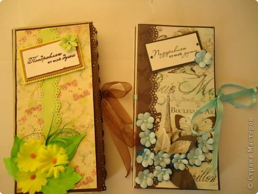 Вот такие шоколадницы мы с дочкой сделали учителям на весенний праздник,но... фото 3