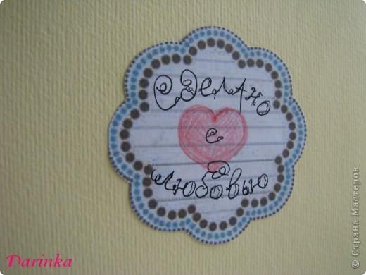 Приветствую всех,кто зашёл в гости!!!! Для сестрёнки придумалась такая вот открытка к 8 Марта! Квиллинговые открытки у неё есть,захотелось сделать что-то другое.И получилось вот что... фото 5