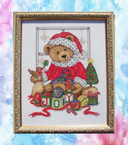 домашний новогодний атрибут Теперь каждый праздник эта картина на стене фото 1