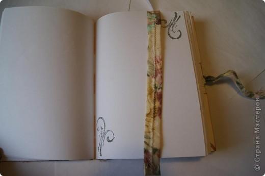 Блокнот с нуля. Обложка из ткани.  фото 5
