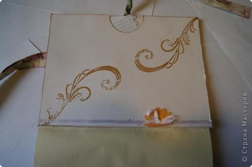 Блокнот с нуля. Обложка из ткани.  фото 6