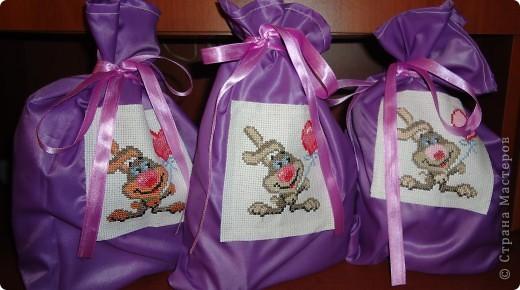 Подарочные мешочки для подруг в год кролика!