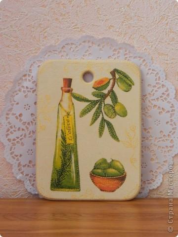Вот кумушке еще один подарочек сделала с её любимыми оливками. фото 1