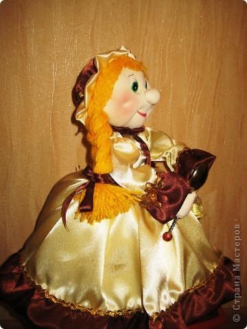 Меня просили сшить куклу на чайник. Вот такая Маруся у меня получилась. Теперь она живёт в Нижнем Новгороде! фото 2
