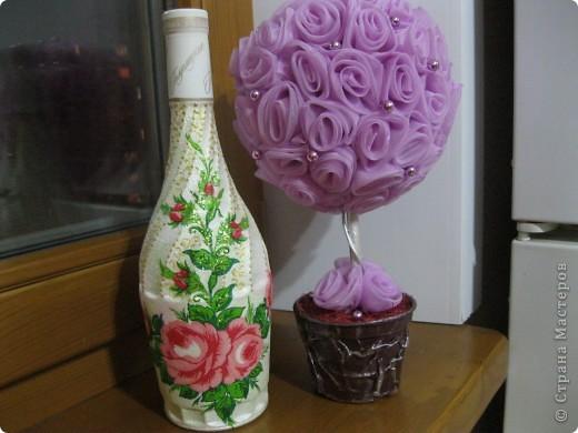 дерево из роз. фото 3