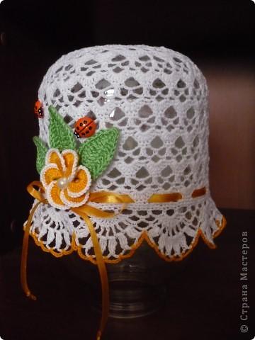 Вот такая шляпка получилась фото 1