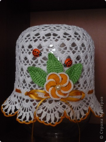 Вот такая шляпка получилась фото 2