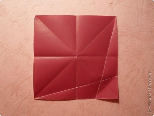 Рада всех приветствовать!  Хочу показать две новые работы. Придумались случайно.  В основе - один модуль с небольшим различием в складывании, собираются на клей.  Очень приятный шипастик с такими же длиной и глубиной шипов, как у Igel Екатерины Лукашевой.  Name: Acacia blossom Desinger: Uniya Filonova Parts: 30 Paper: 6,5*6,5 Final: ~12 sm  Joint: with glue фото 6