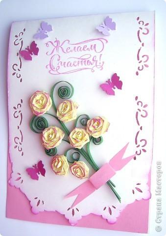Как всегда под праздник, вечерком. Дочка вспонила , что у нее не хватает открыток, для поздравления учителей. фото 2