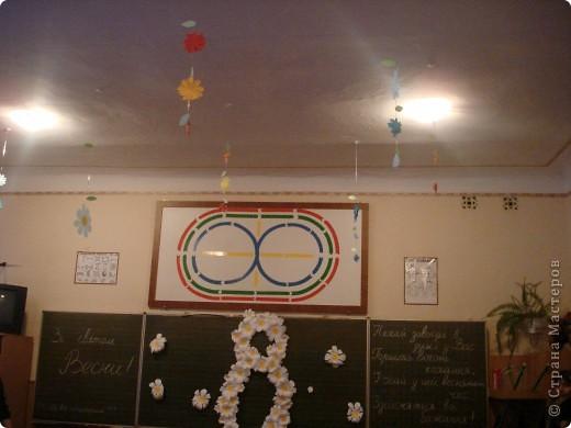 Так мы украсили украдкой класс- сюрприз и хорошее настроение обеспечено первому вошедшему утром! фото 3