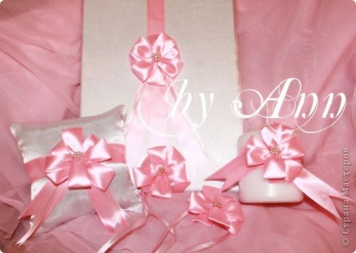 """Свадебный набор """"Розовая нежность"""" фото 2"""