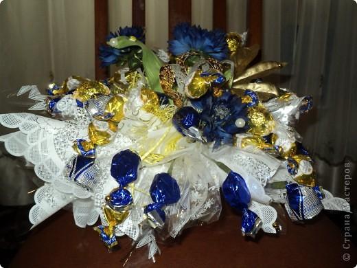 Букеты из конфет.(продолжение) фото 3