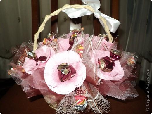 Букеты из конфет.(продолжение) фото 8