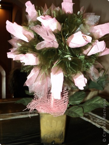 Букеты из конфет.(продолжение) фото 14