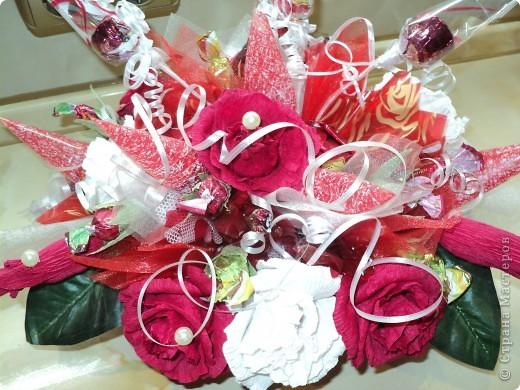 Букеты из конфет.(продолжение) фото 21