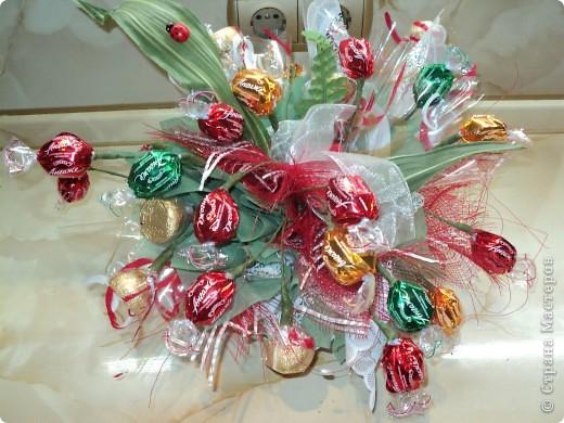 Букеты из конфет.(продолжение) фото 24