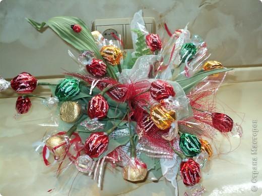 Букеты из конфет.(продолжение) фото 25