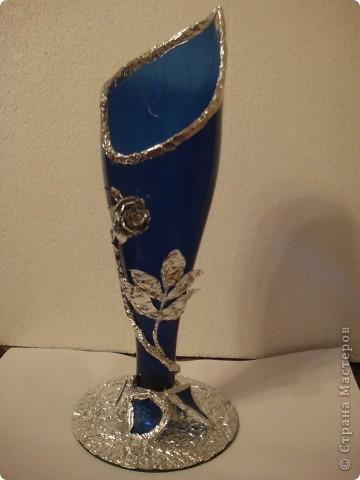 Эту вазу сделал сын и подарил мне на день рождения . И хочу вам похвастаться этой поделкой . фото 3