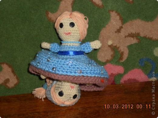 Кукла-перевертыш Золушка. фото 2