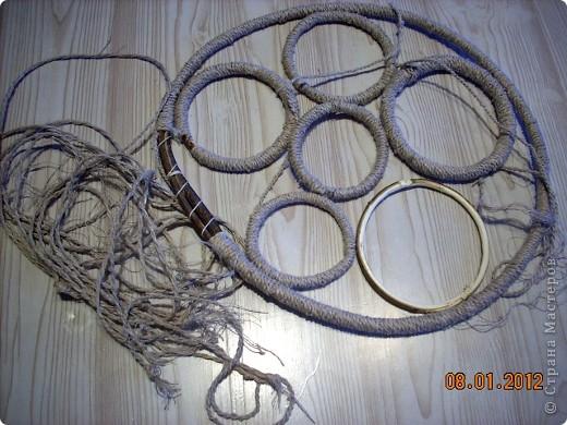 Представляю вашему вниманию ещё несколько ловцов, сделанных, в основном, из натуральных материалов. фото 6