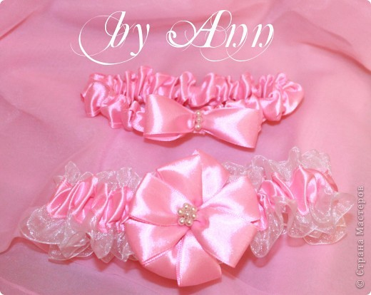 """Свадебный набор """"Розовая нежность"""" фото 5"""