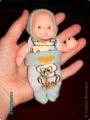 вот такой костюмчик из детских носочков фото 1