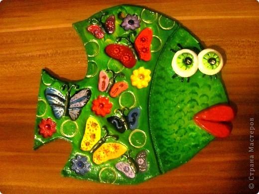 Может быть рыбка получилась даже летняя!))