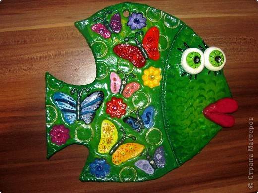 Может быть рыбка получилась даже летняя!)) фото 2