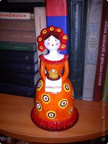 Дымковская кукла повторюшка фото 1