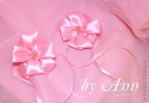 """Свадебный набор """"Розовая нежность"""" фото 4"""