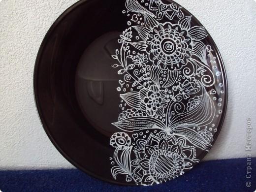 моя первая тарелка