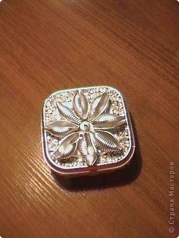 Серебрянная шкатулка фото 3
