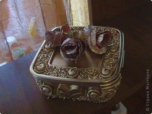 Серебрянная шкатулка фото 18