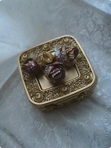 Серебрянная шкатулка фото 17