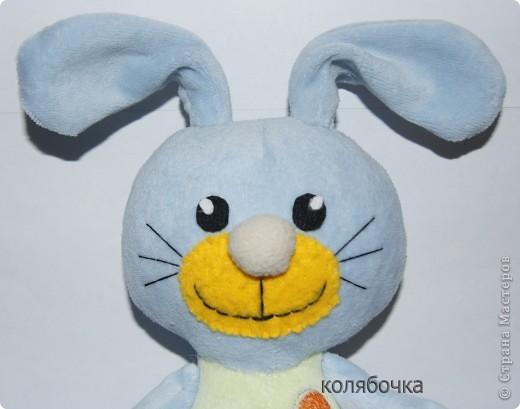Нежный,ласковый зайчишка,в этот мир пришёл к детишкам. фото 2