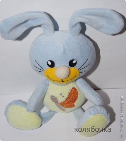 Нежный,ласковый зайчишка,в этот мир пришёл к детишкам. фото 3