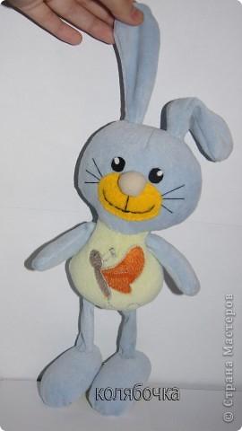 Нежный,ласковый зайчишка,в этот мир пришёл к детишкам. фото 5