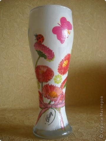 ваза для весенних цветов фото 1