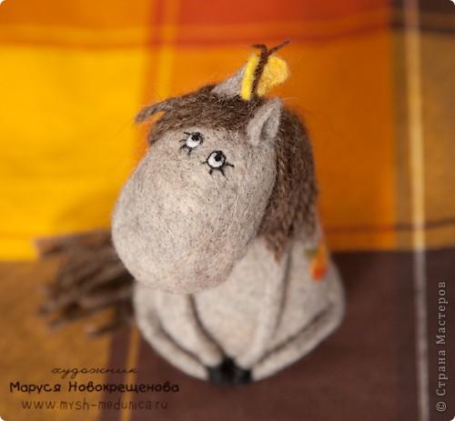 Авторская игрушка из шерсти. фото 4