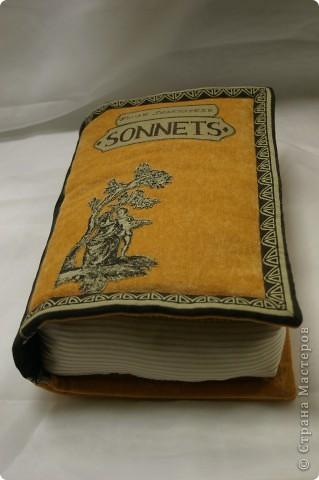 Подушка-книга. Размеры: 40-25-7см. фото 3