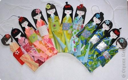 Японские куклы своими руками из салфетки